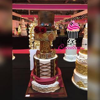 Steampunk Wedding cake  - Cake by Niki