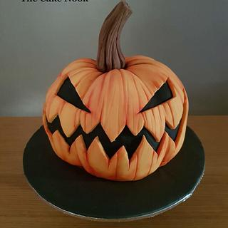 🎃Halloween Pumpkin Cake.🎃
