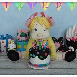 Birdthday party - Cake by Creme & Fondant