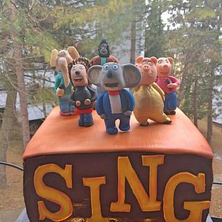 Sing Movie Cake