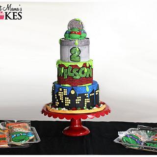 TMNT cake!