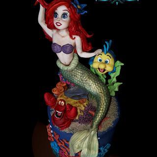 Ariel, Topper La Sirenetta