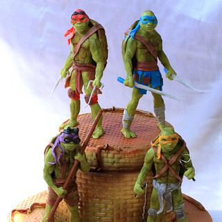 "Cake ""Teenage Mutant Ninja Turtles"""