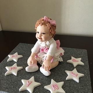 baby fondant figüre - Cake by Aygül DOĞAN