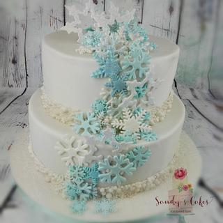 Weddingcake Happy New Year