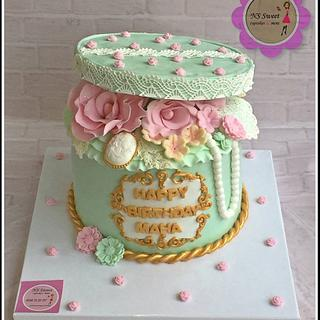 elegant cake - Cake by NS Sweet