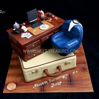 Retirement Cake ( Office Retirement)