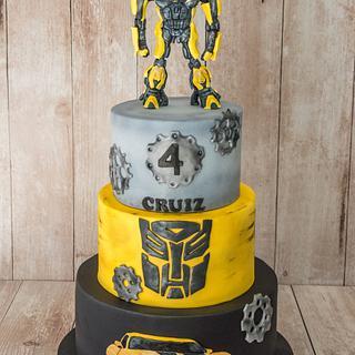 Transformers cake - Cake by Lucie Černá