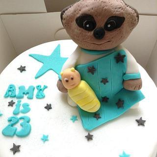 'Simples' Baby Oleg Cake