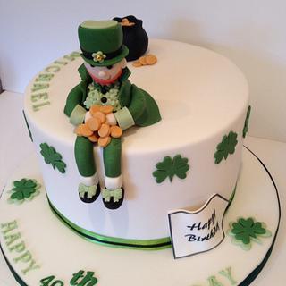 Lebrechaun cake