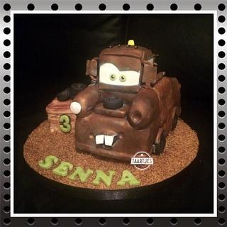 Tow Mater Cars 3D