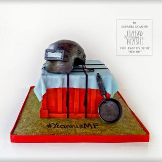 """""""Pubg  Game"""" - Cake by Aspasia Stamou"""