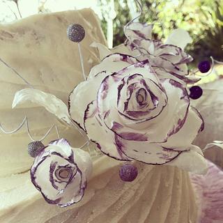 Waffer roses
