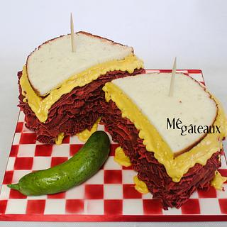 smoked meat cake!