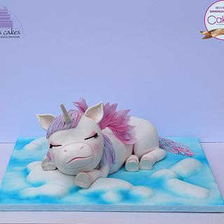 Sleeping Baby Unicorn