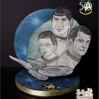 Star Trek Crew (Star Trek 50 - Cake Celebration)