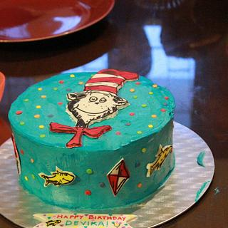 Dr Seuss Cake - Cake by Smita Maitra (New Delhi Cake Company)