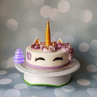 Unicorn - Cake by Pluympjescake