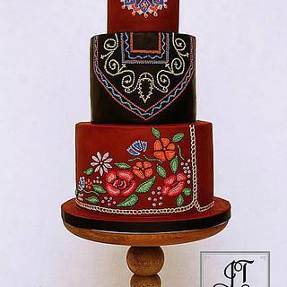 Ukraine - Cakes of the World Issue Cake! Magazine - Cake by JT Cakes