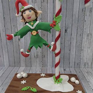 Christmas Elf - Cake by Stertaarten (Star Cakes)