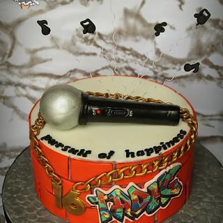 Rap Cake