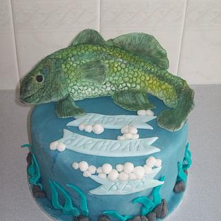 fish cake - Cake by Amy
