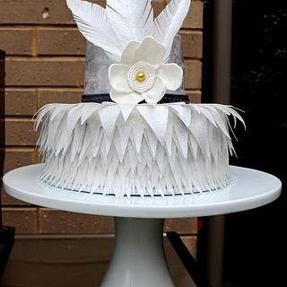 1st Anniversary Wedding Cake