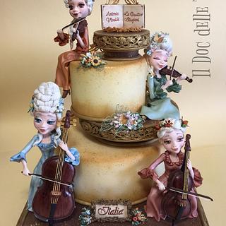 Vivaldi - The Four Seasons cake