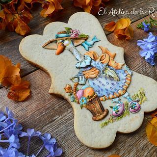 Cookie Gansa Primaveral