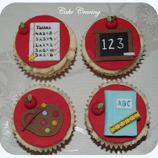 teachers cupcakes - Cake by Hayley
