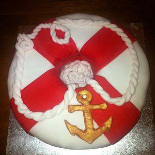 Life Ring Cake