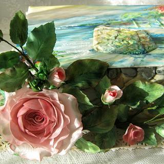 "Cake ""Sunny Italy"" - Cake by Sweet pear"