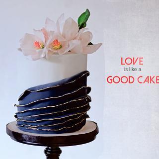 Small wedding cake - Cake by Urvi Zaveri