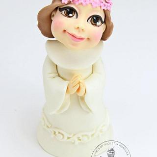 first communion cake topper - Cake by My sweet miracles