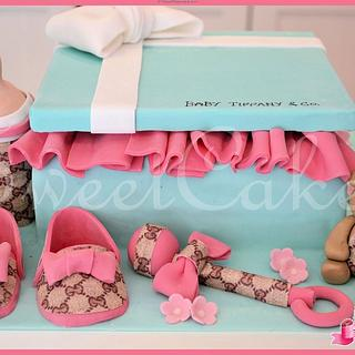 Tiffany Box with Gucci Accesories