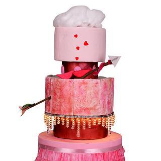 Caker Buddies Valentine's Collab- Showered in Love