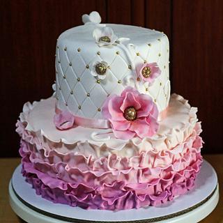Chic & pink Cake