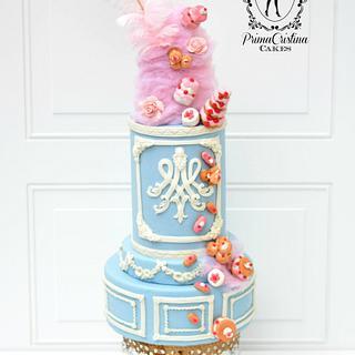 Marie Antoinette CakeFlix Collaboration