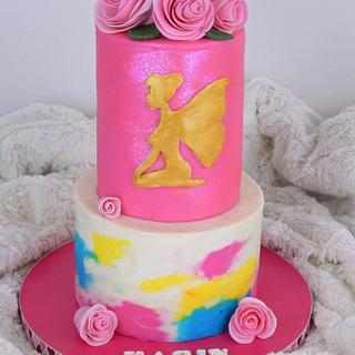 PINK N' PRETTY FAIRY CAKE - Cake by Sharon A./Not Your Average Cupcake