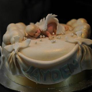 Heaven is missing an angel. - Cake by Natasha