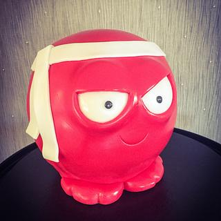 This years Red Nose cake  - Cake by Lisa Salerno