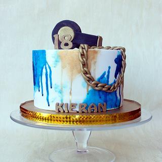 Birthday cake  - Cake by Kalina