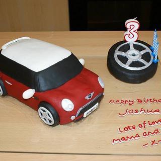 BMW Mini Cake