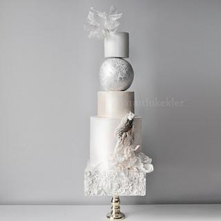 Couture wedding cake...