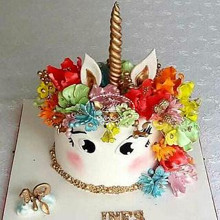 A Licorne cake - Cake by Fées Maison (AHMADI)