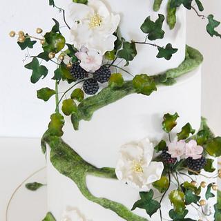 """Fairydust Woodland Cake"""