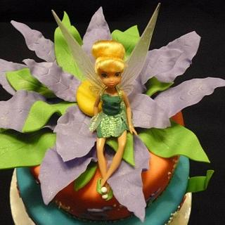 Jasmin's Tinkerbell - Cake by Pam - Kingman Cake Company