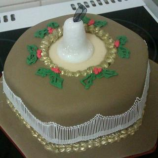 Antique Christmas - Cake by fiestykax