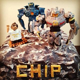 Pacific Rim Movie Cake