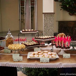 Dessert Table - Rustic